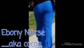 Ebony Nurse In An Intensive Care Happens To Have Some Nice Tits And A Bubbly Mouth!