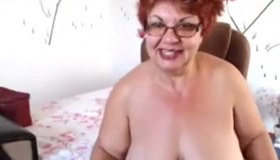 Tiny Granny Likes A Big White Cock In Her Tight Older Pussy