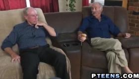 Legs Pounding Old Man