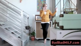 Redhead MILF Jane Wilde Has The Perfect Ass & Gets Fingered & Pussy Creampied In The Back Room