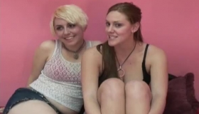 Pretty College Gals Have Amazing Lesbian Sex