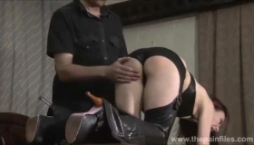 Kinky Anal Submissive Gets Her Come Nose Up Doggy