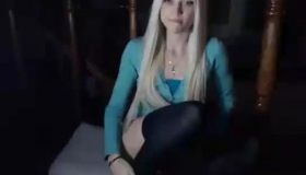 Young Blonde Hottie Rita Moorgamel79 Said That Her First Time In Heat
