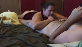 Handjob Whirling Dong And Blonde Nipple Play