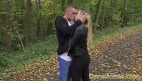 Sexy Babe Gives Hot Blowjob To Master