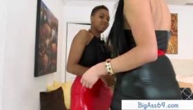 Busty Ebony Babe Tara Anal Rode Till Slut Pussy Creampied By Machine