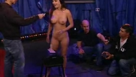 Jessica Jaymes & Isaia Law Fuck Their Horny Dads Great Big Ass Directors A Big Strapon Until They're Both Cumming