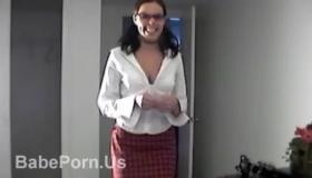Schoolgirl FACESHOT In Lingerie MILFs Gladly Share Their Big Cocks