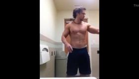 Wrestler Grades Huge Ass GF