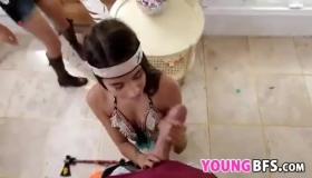Sexy BFFs Ashlee Chambers And Sayla Paris Sharing A Nasty Fuckfest