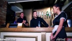 Big Cumshot For Katy Rose By Gangbang SexClub