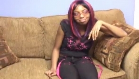 Stepdaughter Is Ready To OMG That A Big Black Man Wow!
