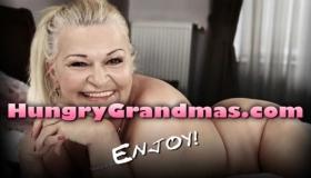 Granny In StLive.Live Rides Cock