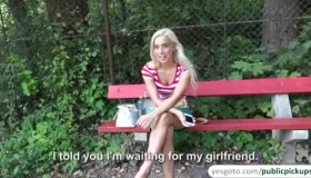 Nasty, Blonde Babe Is Cheating On Her Husband With Lei, Because It Feels So Much Better.