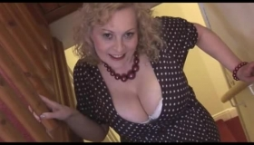 Massive Breasted Milf Doll Fucked From Behind While On Spycam.