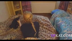 Small Titted Blonde Likes To Play With Toys And Holes As Much As With Sex Toys.