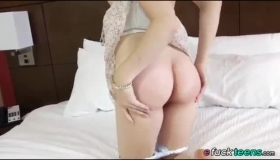 Racy Blonde Babe With Big Tits, Rosa Brookes Sucked Her Horny Guy's Huge Tool, Like Never Before.