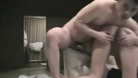 Blonde Asian Sex Toy Playing With Her Cock And Loving It.