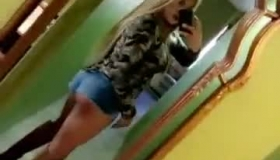 Karma Is The Most Wanted Blonde Teen From A Naughty Video Game, Who Likes Black Cock