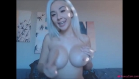Beautiful Blond Teenager Fucked With A Snake Dick