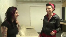 Spying Joanna Angel And Lexi Belle Playing With Their Toys Again