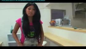 Tanned Asian Girl Masturbates