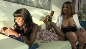 Ana Foxx Is Gently Sucking And Riding Johnny's Greasy Cock In The Best Way Possible