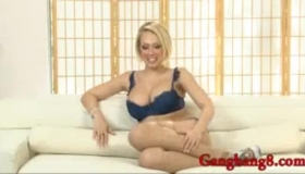 Kagney Layne Likes To Suck A Fat Cock, Because Her Tight Pussy Needs A Good Fuck.