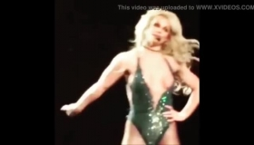 Sexy Britney In Hard Action.