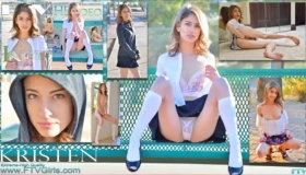 Kristen Scott And Lyli Ebb Are Ready To Play With Each Other And Their Sweet F Banged Breasted Teen.