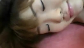 Young Asian Girl With Cute Boobs Gets Toyed.