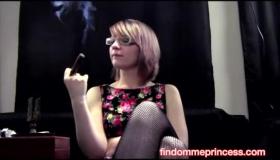 Hardcore Cigar Loving Bukkake Fetish Slut Rides Her Lucky Boyfriend