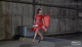 Woman In Red Shoes With High Heels, Gabriella Scholl Wanted To Do Her Job Properly.