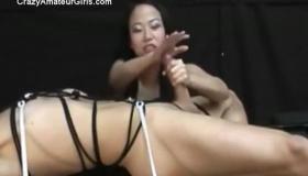 Mosaic Asian Femdom Asshole Used For Kinky Sex.