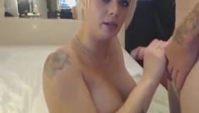 Amateur Babe Gets Banged And Gets Cum.