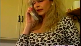 Blonde Punk Grandma Doing It.