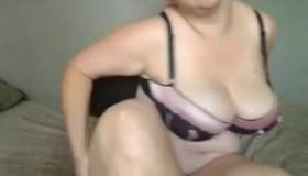 Curvy MILF Handles A Cock.