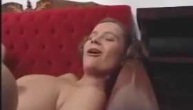 Big Titted Mature Blonde Is Down On Her Knees And Sucking Her Husband's Hard Cock, Like Crazy.