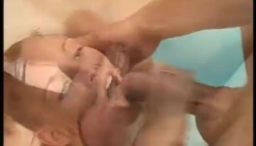 Slutty Sluts Went To Their Guy's Place To Have A Threesome With Him And His Girlfriend.
