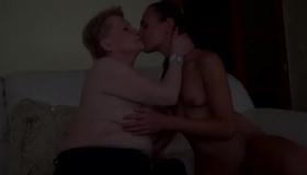 Horny Mature Enjoys Taking Small Dick.