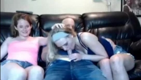 Cam Girls Blowjob In Fisting Orgy