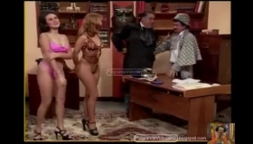 Monica Sartori In Trouble While Fucking With A Cable Guy