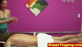 Real Amateur Massage Creampie