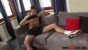 Pretty Singapore Lad Arrives And Gets Fucked