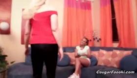 Lesbian Milf Babe Mandy Bright Gets Orgasms From Hard Cock