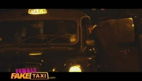 Female Fake Taxi Stripping Naked For Money