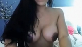 Hot Latina Babe Katie Sunny Goes Wild In The Bathroom And Squirts All Over The Couch