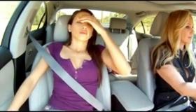 Big Tit Lesbian Gets Banged