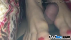 Amateur Homemade Foot Fetish Fuck And Anal Sex For Thick Big Booty.