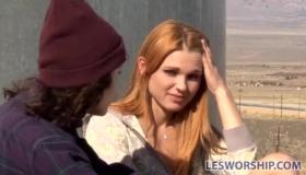 Redhead Teen Licking Asshole